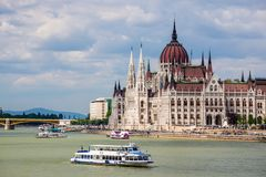 Budapest Parliament - Hungary Stock Photography