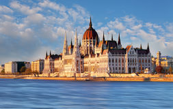Budapest - Parliament, Hungary Stock Photography
