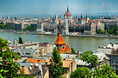 Budapest. Parliament in Budapest, Hungary, East Europe Stock Photos