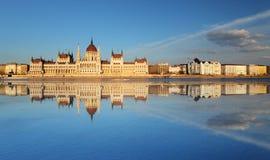 Budapest - Parliament, Hungary Stock Photo