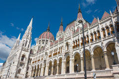 Budapest parliament , Hungary Royalty Free Stock Photo