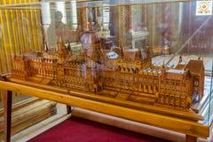 Budapest Parliament Miniature Stock Images