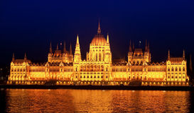 Budapest parliament Royalty Free Stock Images