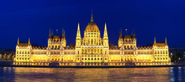 Budapest Parliament Stock Image