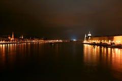 budapest parliament side view Στοκ Φωτογραφία