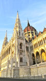 Budapest Parliament. Street view of the Budapest Parliament Royalty Free Stock Image