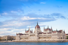 Budapest parliament view Royalty Free Stock Image