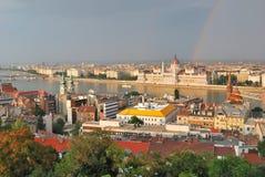 Budapest po burzy Obraz Royalty Free