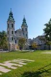 Budapest podupadła część śródmieścia zdjęcie royalty free