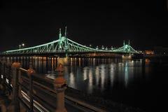 Budapest (ponte da liberdade) Foto de Stock Royalty Free