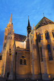 Budapest por la tarde Imágenes de archivo libres de regalías