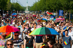 Budapest Pride 2012 Royalty Free Stock Images