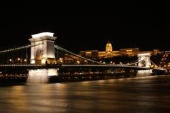 Budapest przy nocą Obrazy Stock