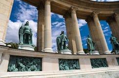 Budapest, quadrado dos heróis Imagem de Stock