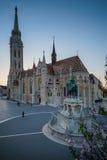 Budapest que a capital de Hungria se cruzou pelo Danube River foto de stock royalty free
