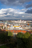 Budapest and River Danube Stock Photography