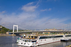 Budapest riverboat Royalty Free Stock Photo