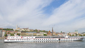 Budapest riverboat Stock Photo