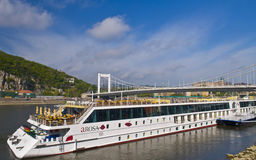 Budapest riverboat Royalty Free Stock Images