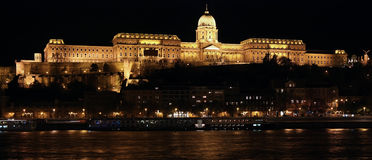 Budapest royal castle Stock Photography