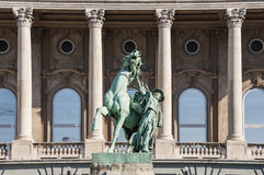 Budapest royal pal ace Royalty Free Stock Photo