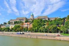 Budapest. Royal Palace immagine stock