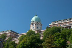 Budapest Royal Palace Stock Photography
