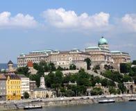 Budapest Royal Palace Fotografia Stock