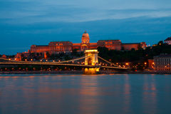 Budapest, the Royal Palace Royalty Free Stock Photo