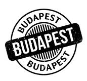 Budapest rubber stamp Royalty Free Stock Photos