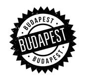 Budapest rubber stamp Stock Photography