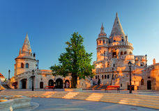 Budapest - rybaka bastion przy wschodem słońca obrazy royalty free