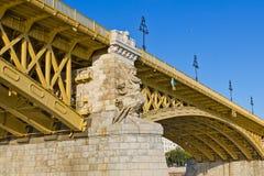 Budapest's Margaret Bridge Stock Image