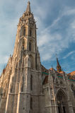 Budapest Saint Mathias Cathedral in Hungary. View of Budapest Saint Mathias Cathedral in Hungary Royalty Free Stock Photography
