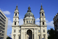 Budapest saint Stephen Basilica Royalty Free Stock Image