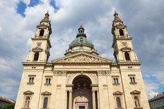 Budapest Saint Stephen Basilica Royalty Free Stock Photo