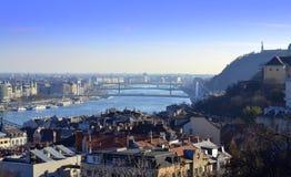 Budapest sceniczny widok Zdjęcie Royalty Free