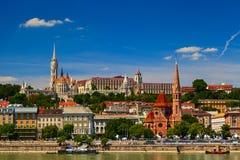 Budapest sikt arkivfoton