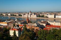 Budapest skyline Royalty Free Stock Photo