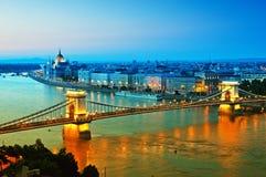 Budapest skyline Royalty Free Stock Image