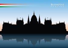 Budapest skyline Stock Images