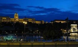 Budapest skyline Stock Photos