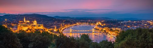 Free Budapest Skyline In Hungary Royalty Free Stock Photography - 155103887