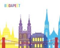 Budapest skyline pop Stock Image