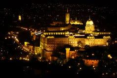 budapest slott Royaltyfri Bild