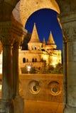 Budapest slottkulle Fotografering för Bildbyråer