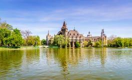 budapest slottvajdahunyad Fotografering för Bildbyråer