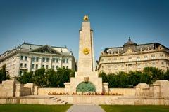 Budapest Soviet War Memorial Royalty Free Stock Photography
