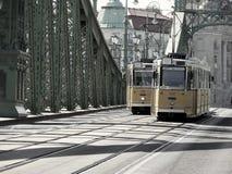 budapest spårvagnar royaltyfria foton
