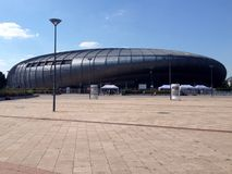 Budapest Sports Arena Royalty Free Stock Photography